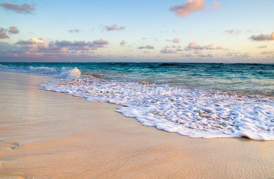 Пляж белый песок