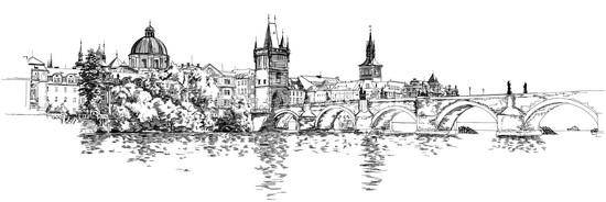 Рисунок Прага