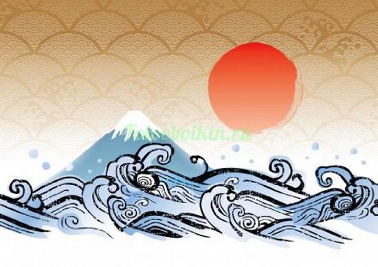 Волны и гора
