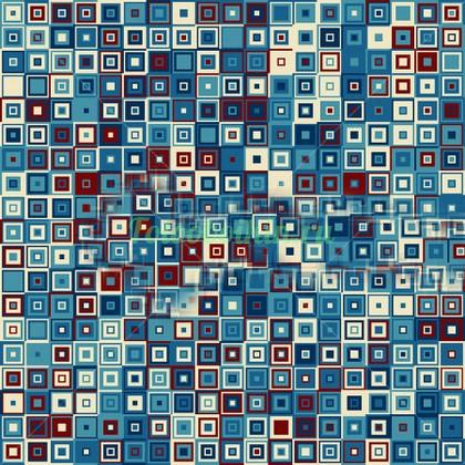 Квадратики мозаика