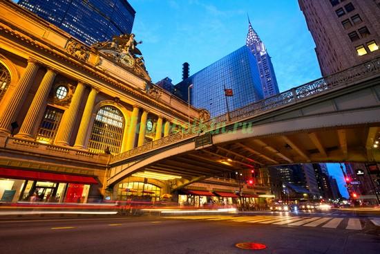 Здание в Нью-Йорке