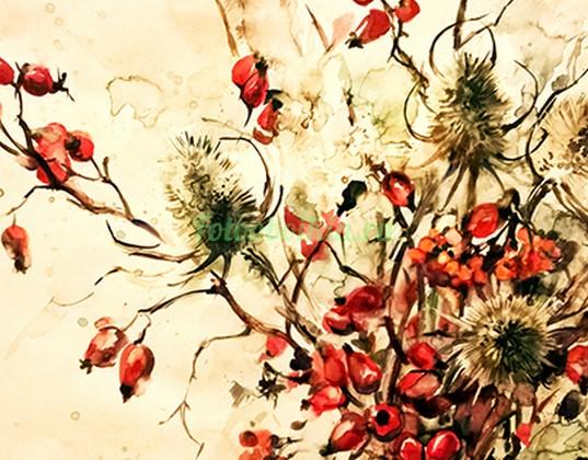 Фотообои Красные ягоды