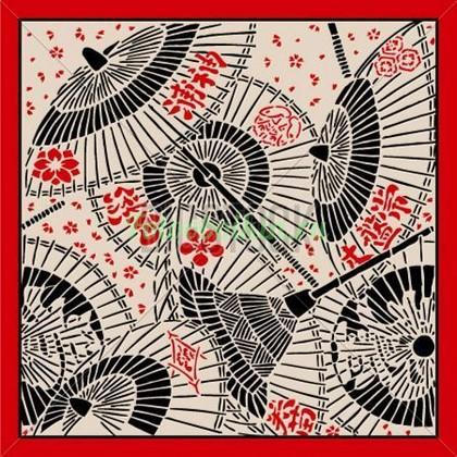 Японские красивые зонтики