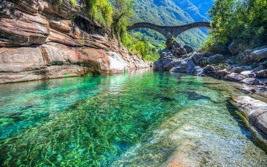 Мост в горах