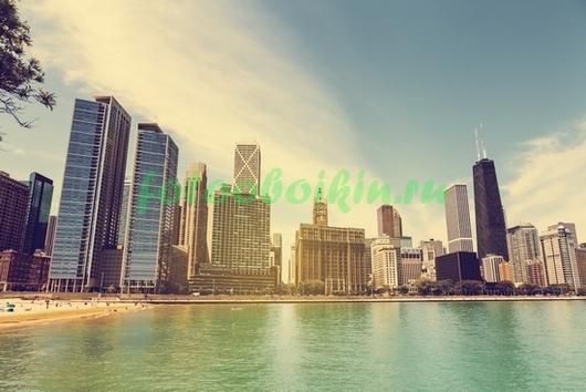Небоскребы в Чикаго