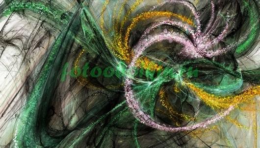 Абстракция из бликов