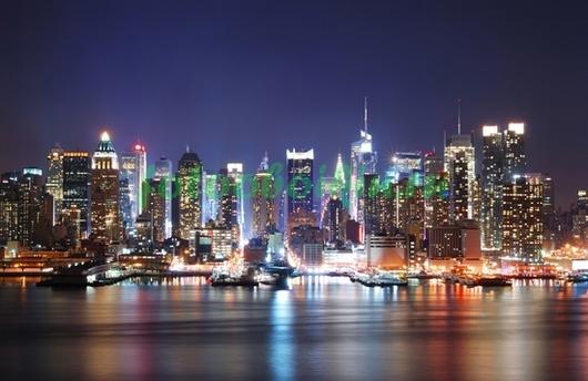 Набережная Нью-Йорка