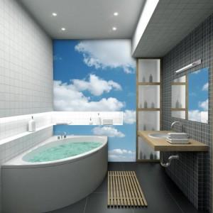 Фотообои в ванной комнаты