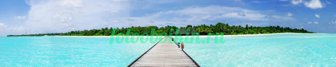 Фотообои Пирс с видом на остров