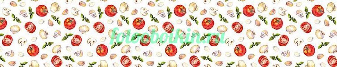 Фотообои Овощной узор