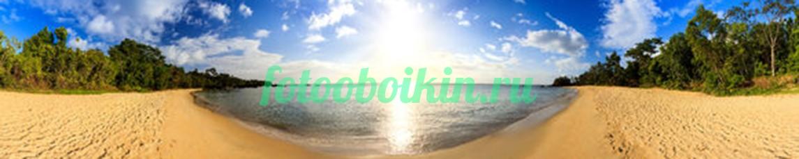 Фотообои Панорама пляжа