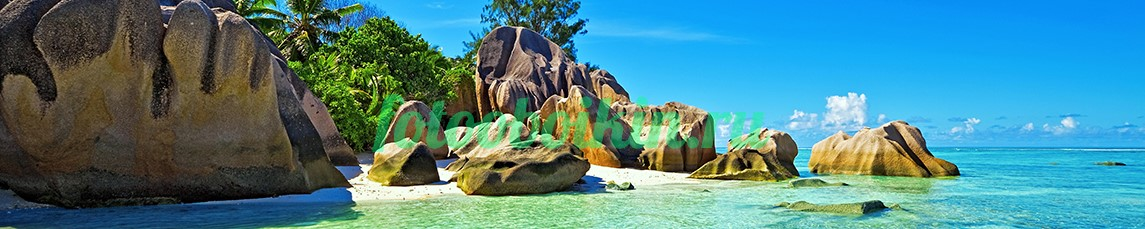 Фотообои Камни на пляже