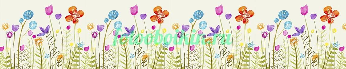 Фотообои Рисунок цветы