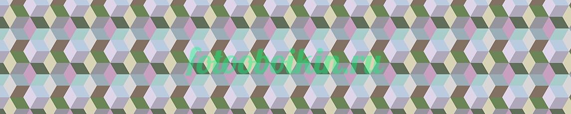 Фотообои Узор кубики