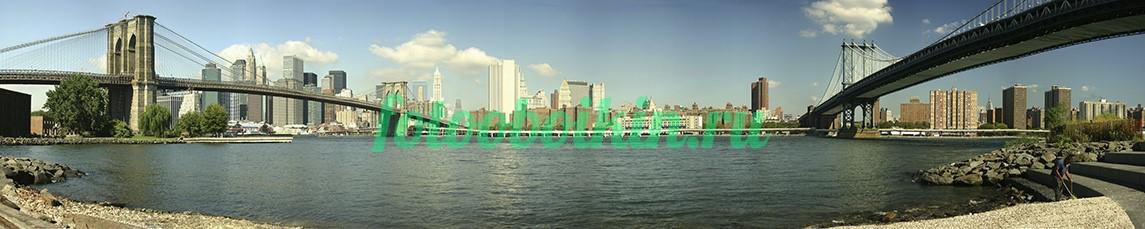 Фотообои Мосты Нью-Йорка