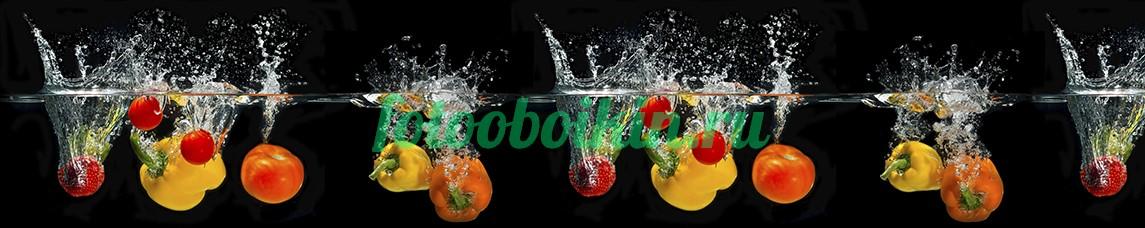 Фотообои Овощи в воде