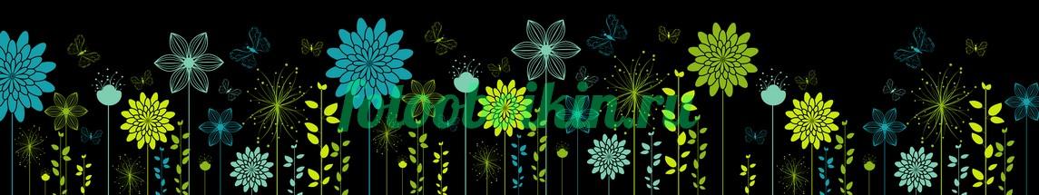 Фотообои Абстракция цветы