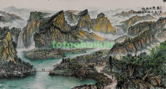 Фотообои Высокие горы