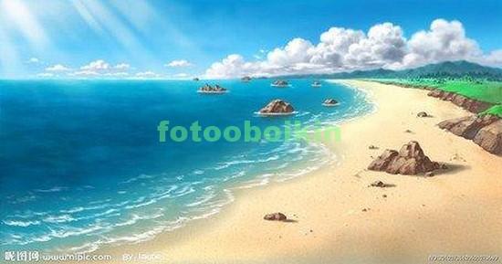 Фотообои Песчаный пляж
