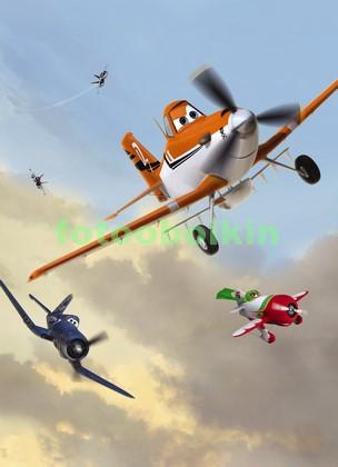 Фотообои Самолеты мультик