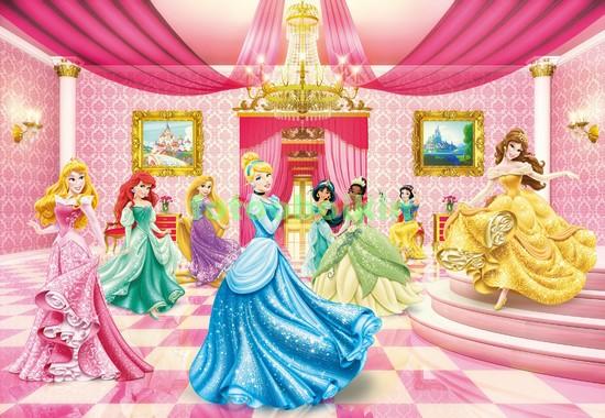 Фотообои Принцессы в зале