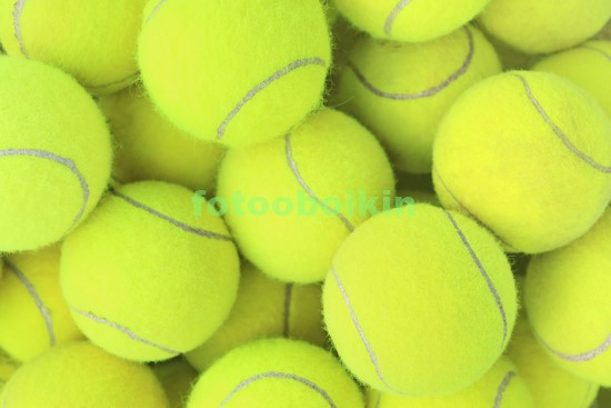 Фотообои Яркие мячики для тениса