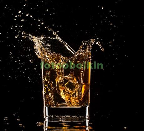 Фотообои Стакан с виски