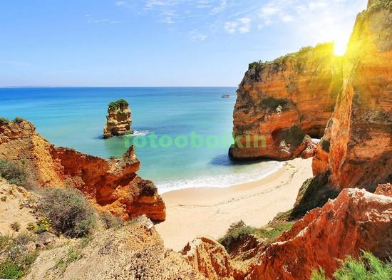 Фотообои Пляж с белым песком