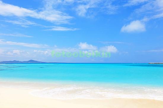 Фотообои Белоснежный песок и лазурное море