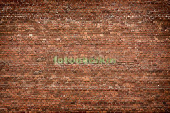 Фотообои Красная кирпичная стена
