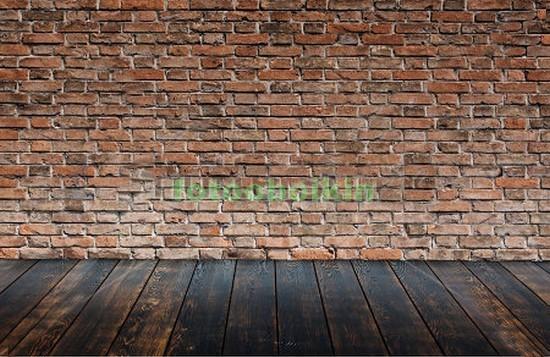 Фотообои Кирпичная стена и пол