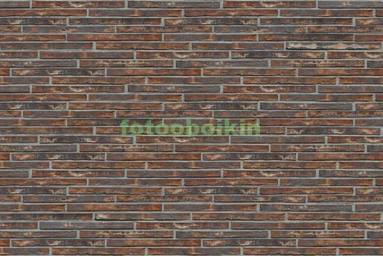 Фотообои Темная кирпичная стена