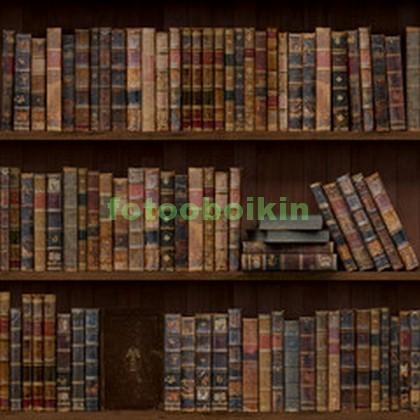 Фотообои Старинные книги на полках