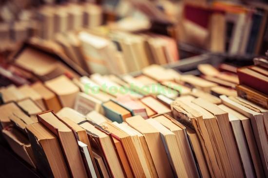 Фотообои Книги в библиотеке
