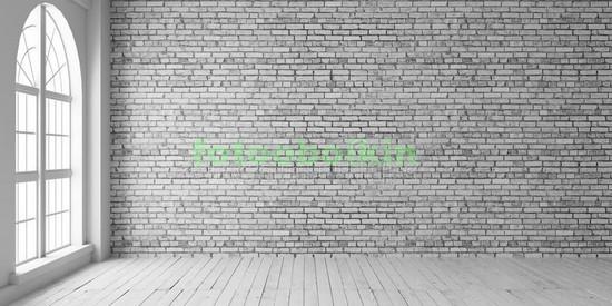 Фотообои Комната с кирпичной стеной