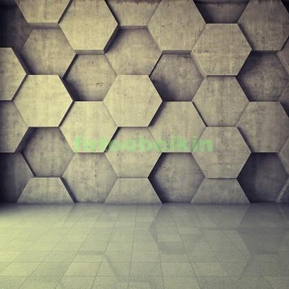 Фотообои Стена соты