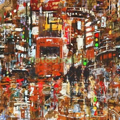 Фотообои Абстракция Лондон