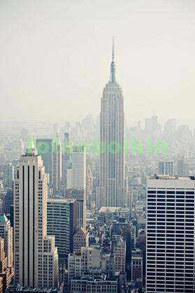 Нью-Йорк утром