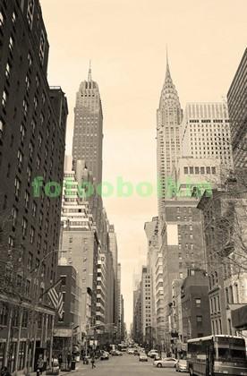 Фотообои Утро в Нью-Йорке