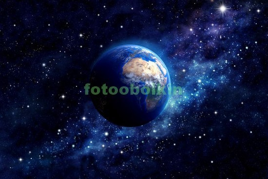 Фотообои Панета в космосе