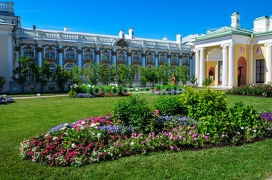 Фотообои Екатерининский сад
