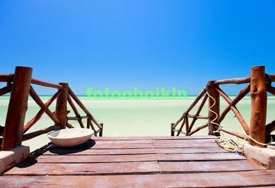Фотообои Мостик на пляж