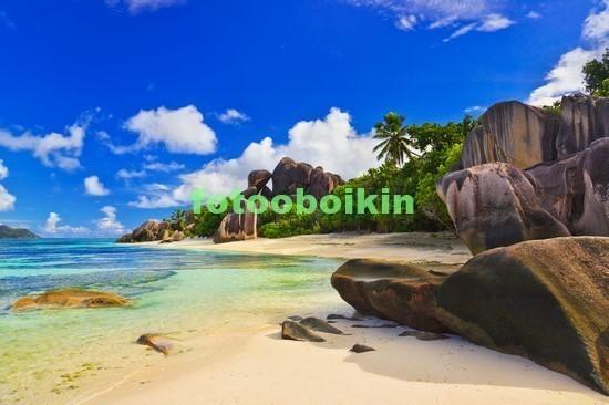 Фотообои Пляж с камнями