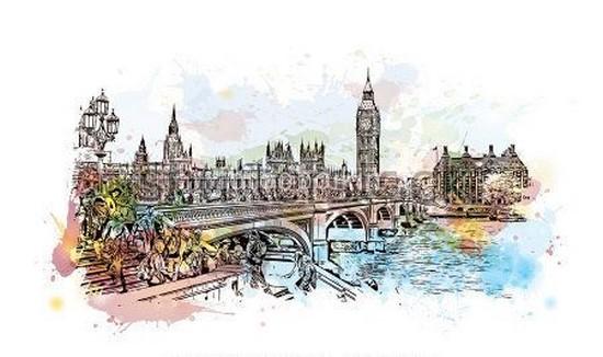 Фотообои Лондон и мост