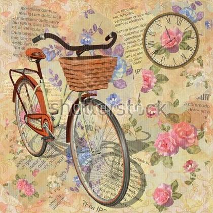 Фотообои Велосипед