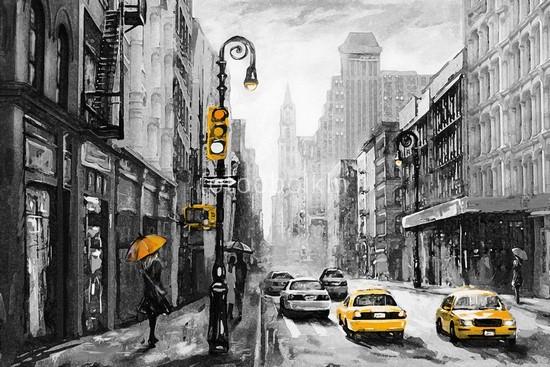 Фотообои Город Нью-Йорк