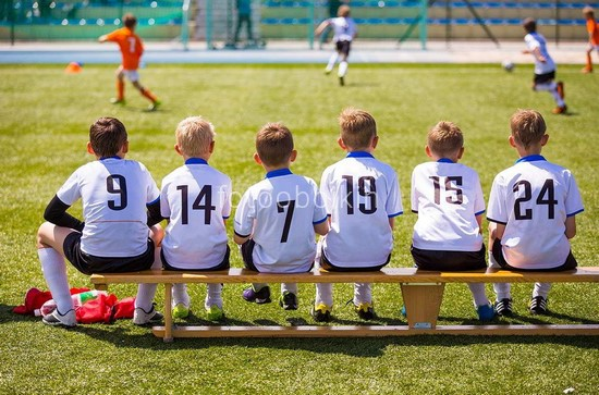 Фотообои Маленькие футболисты