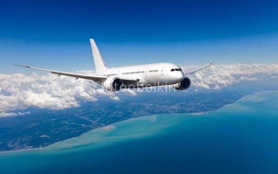Фотообои Белый самолет
