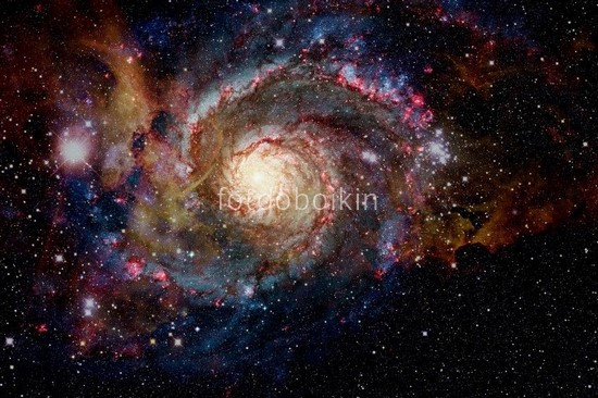 Фотообои Красивая галактика