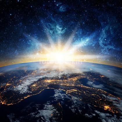Фотообои Земля рассвет